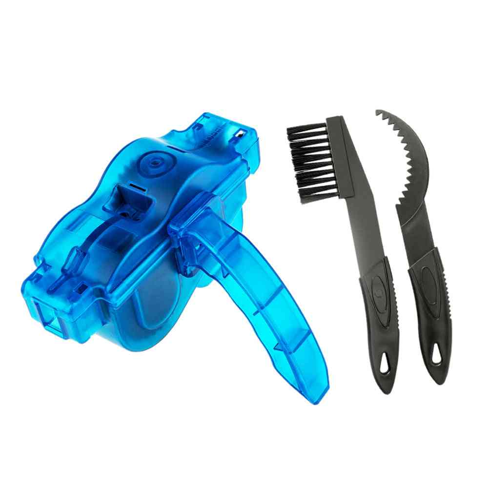 Chain Cleaner Cleaning Bicycle,  Chain Brush Wash Tool Set Mtb Bike Protection Oil Bike Chain For Mountain Bicycle
