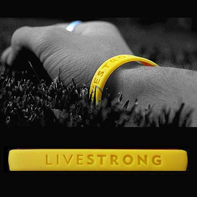 Silicon Rubber Wristband-sports Bracelet/women
