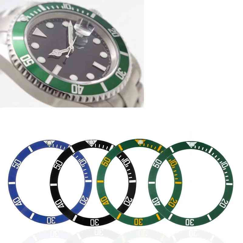 Watch Face Ceramic Bezel, Submariner Automatic Mens Watches Replace Accessories