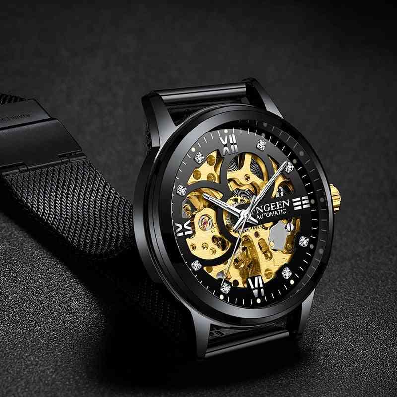 New Sport Mechanical Luxury Men Automatic Watch