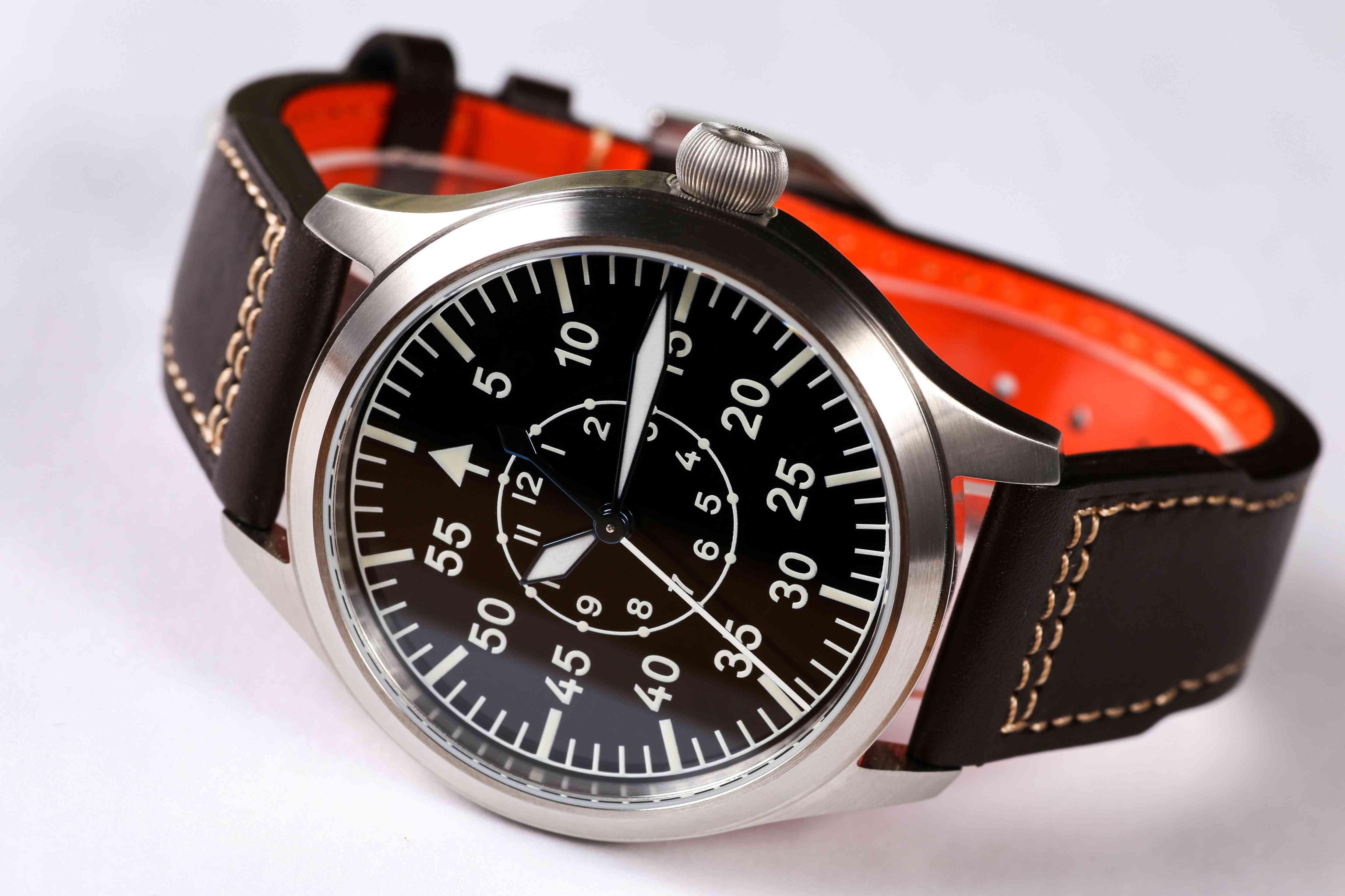 Automatic Movement Pilot Watch