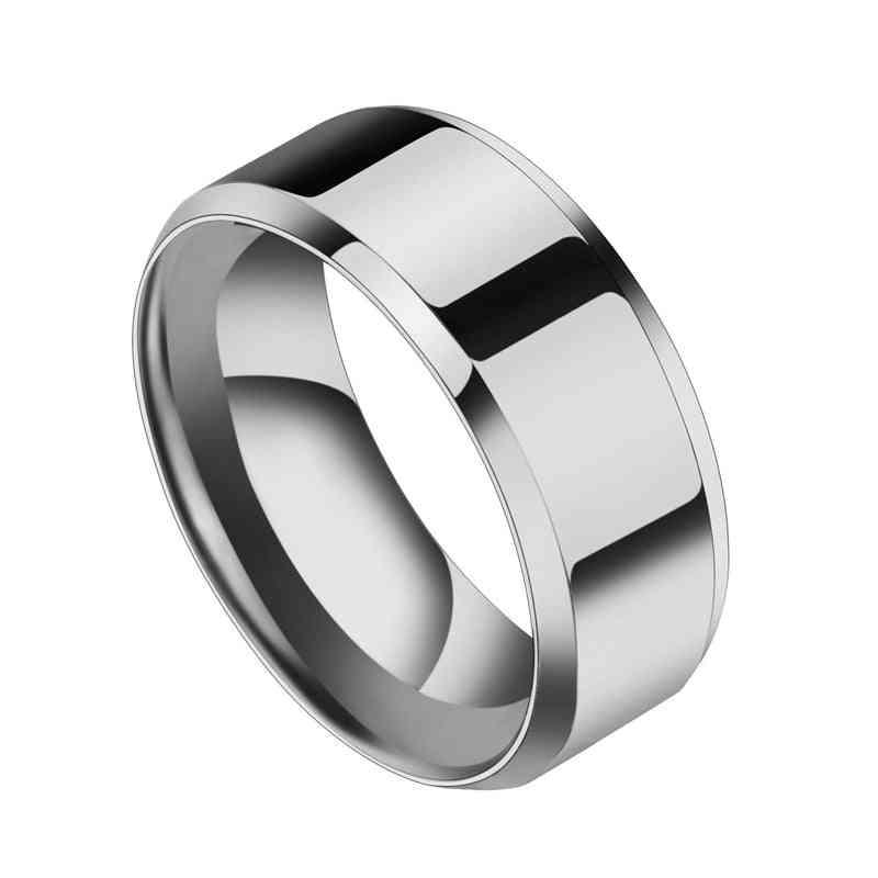 Titanium Stainless Ring/men