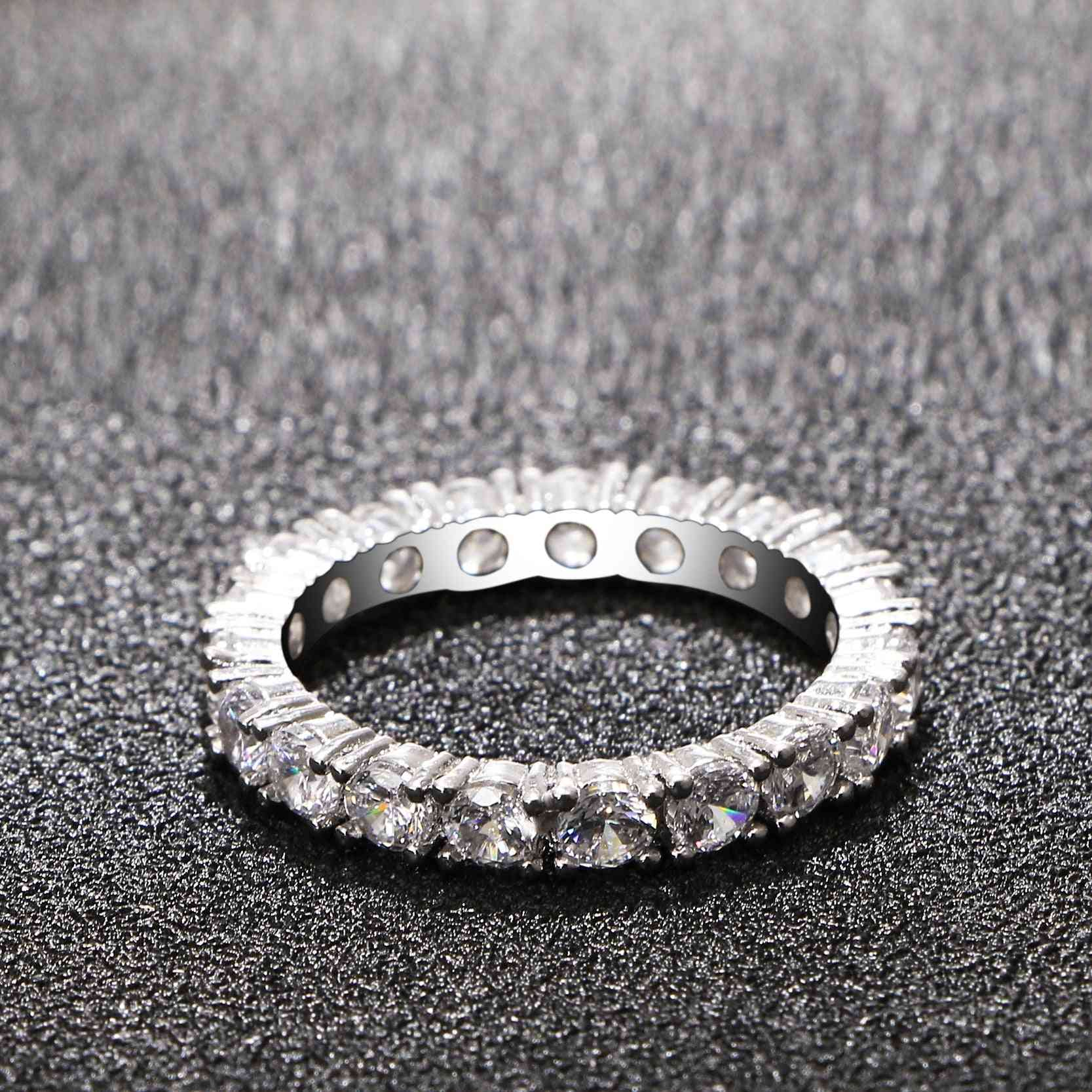 Cubic Zirconia Unique Shaped Ring For Women