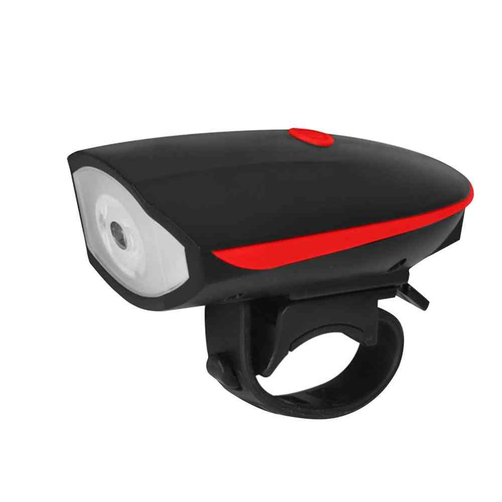 Bicycle Light Usb Rechargeable Power Display Mtb Mountain Road Bike Front Lamp
