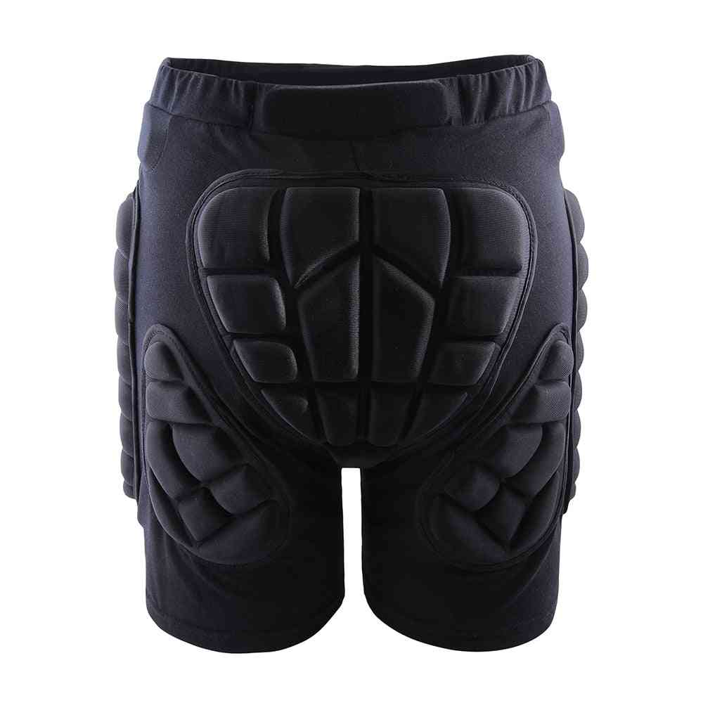 Hip Impact Protection Skateboarding, Thicken Padded Shorts & Gloves Set