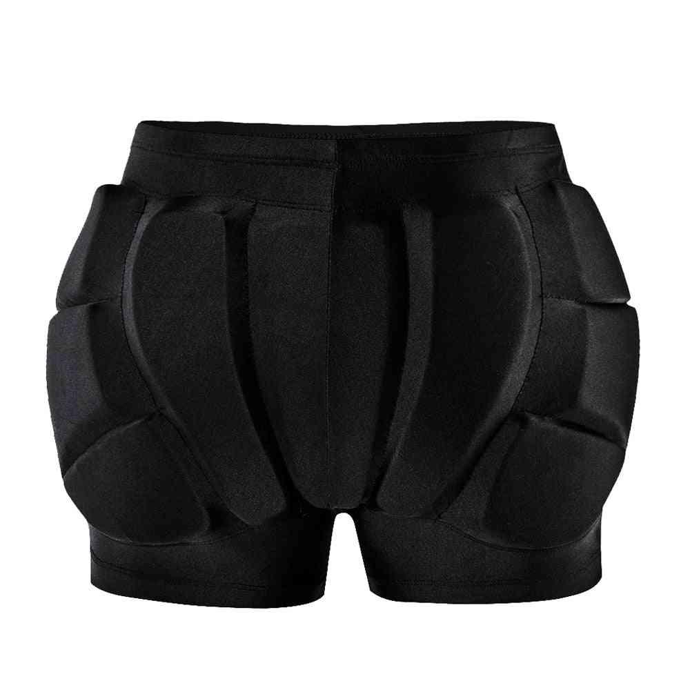 Hips Protector Thick Padded Cushions Compression Skating Short, Sports Protective Mat