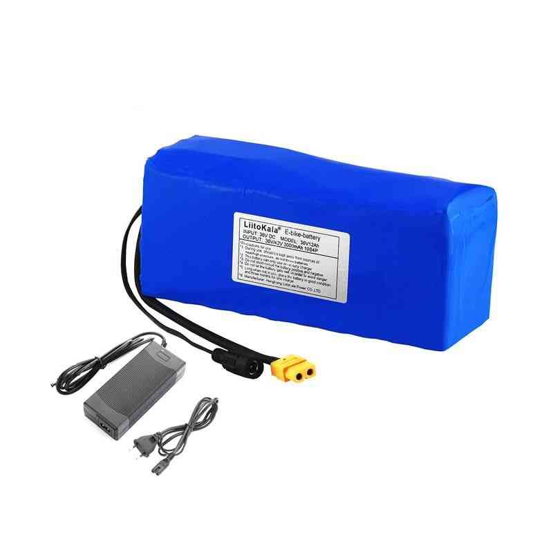 Electric-bike Battery Built-in 20a Bms Lithium-battery Pack  With 42v 2a Charge Ebike-battery
