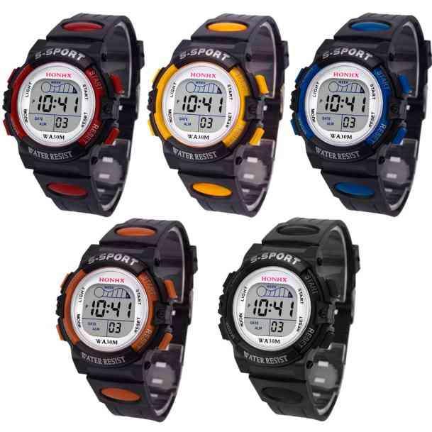 Waterproof Led Sports Digital Watch