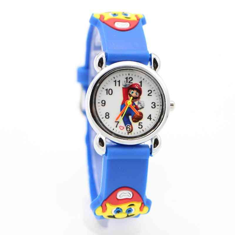3d Cartoon Super Mario Watch