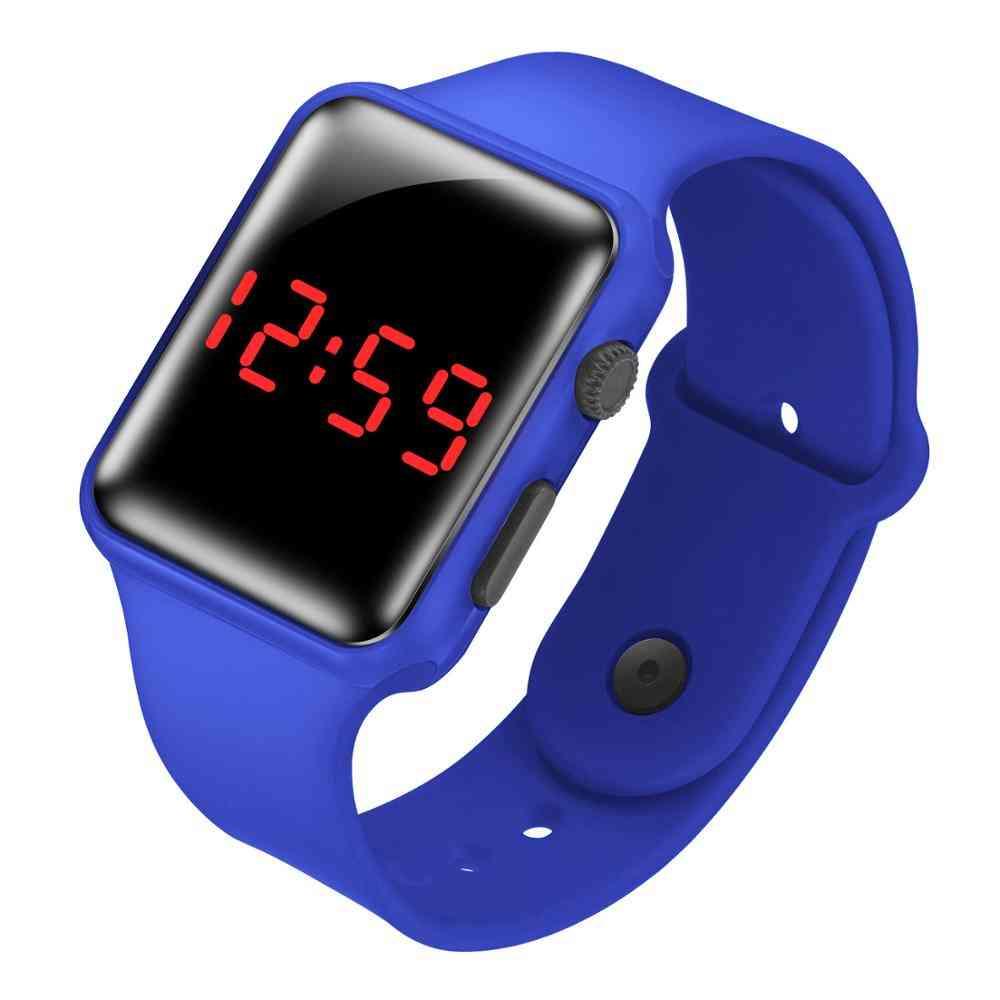 Children's Led Wristwatch Digital Electronic