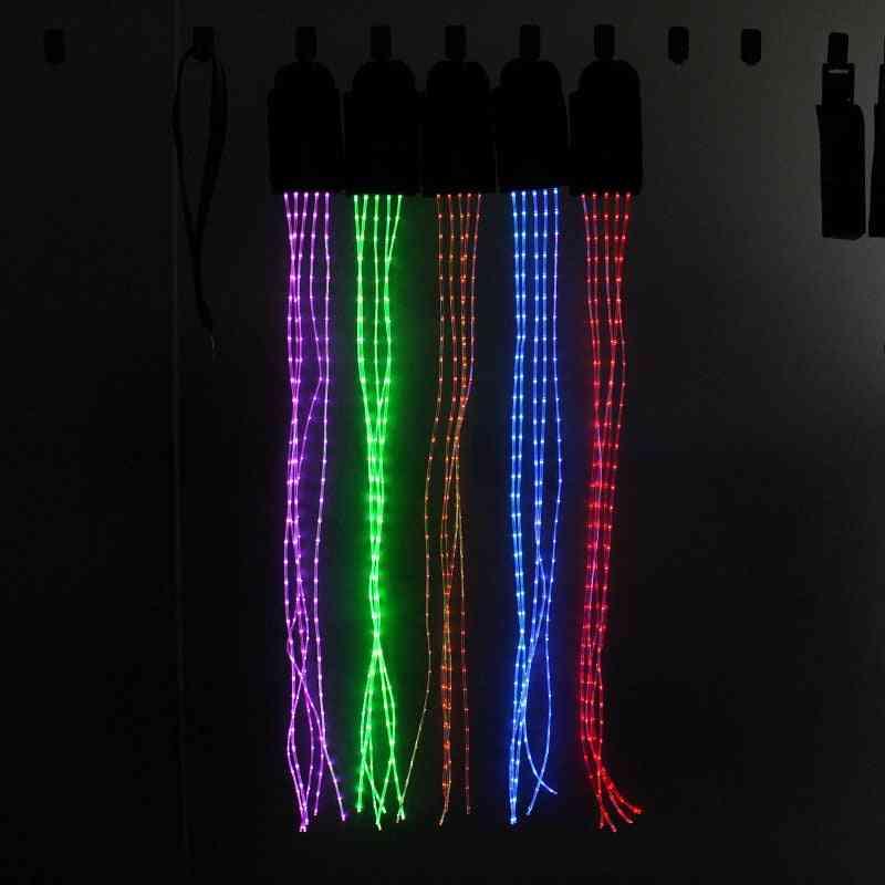 Led Horse Riding Tails Decoration Luminous Tubes