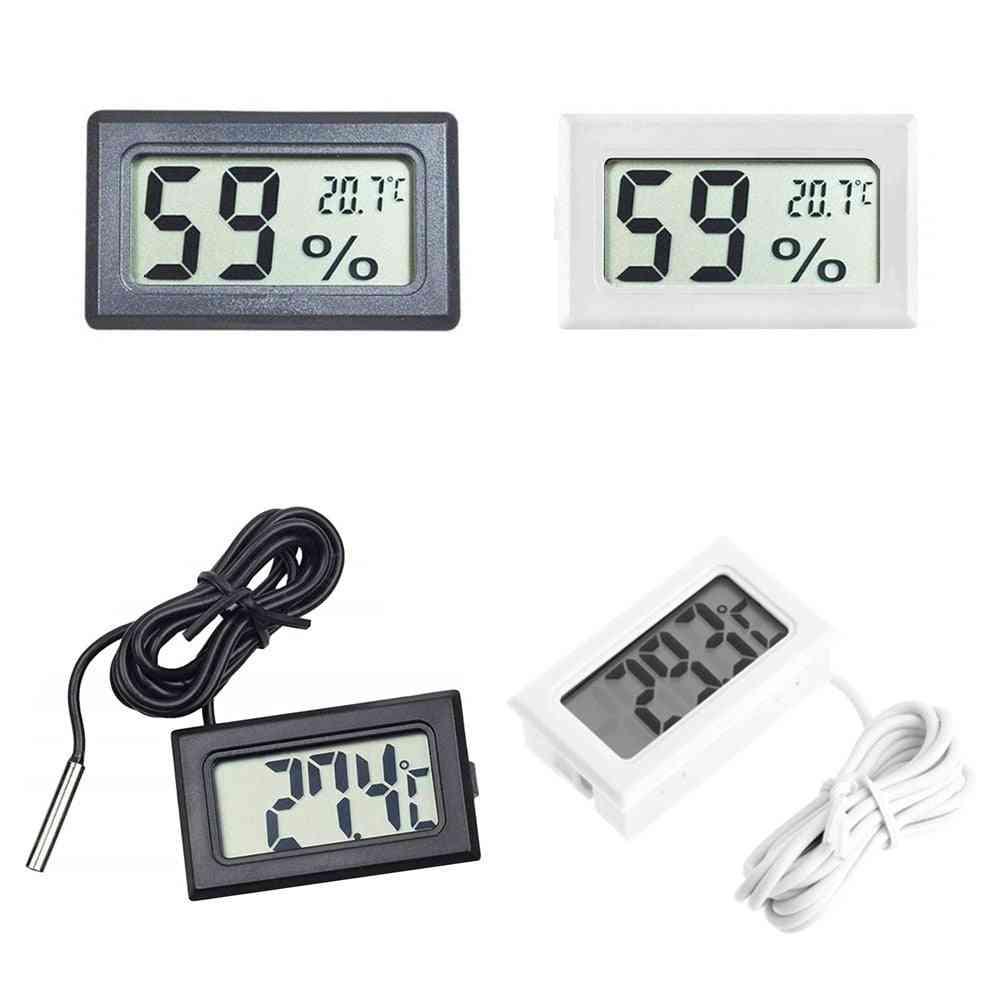 Mini Digital Lcd Indoor Temperature Sensor Humidity Thermometer Hygrometer Gauge
