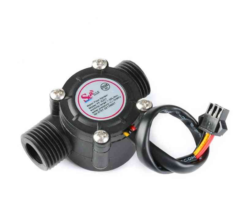 Water Flow Sensor, Flowmeter Controller For Measurement Device