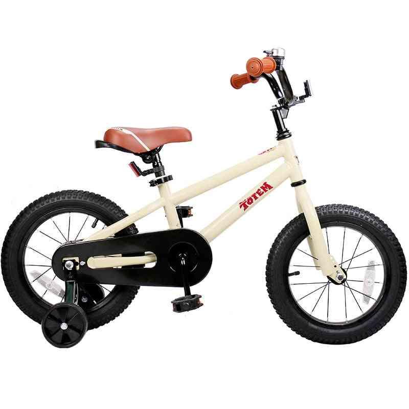 Diy Beige Steel Kids Bike Diy Sticker