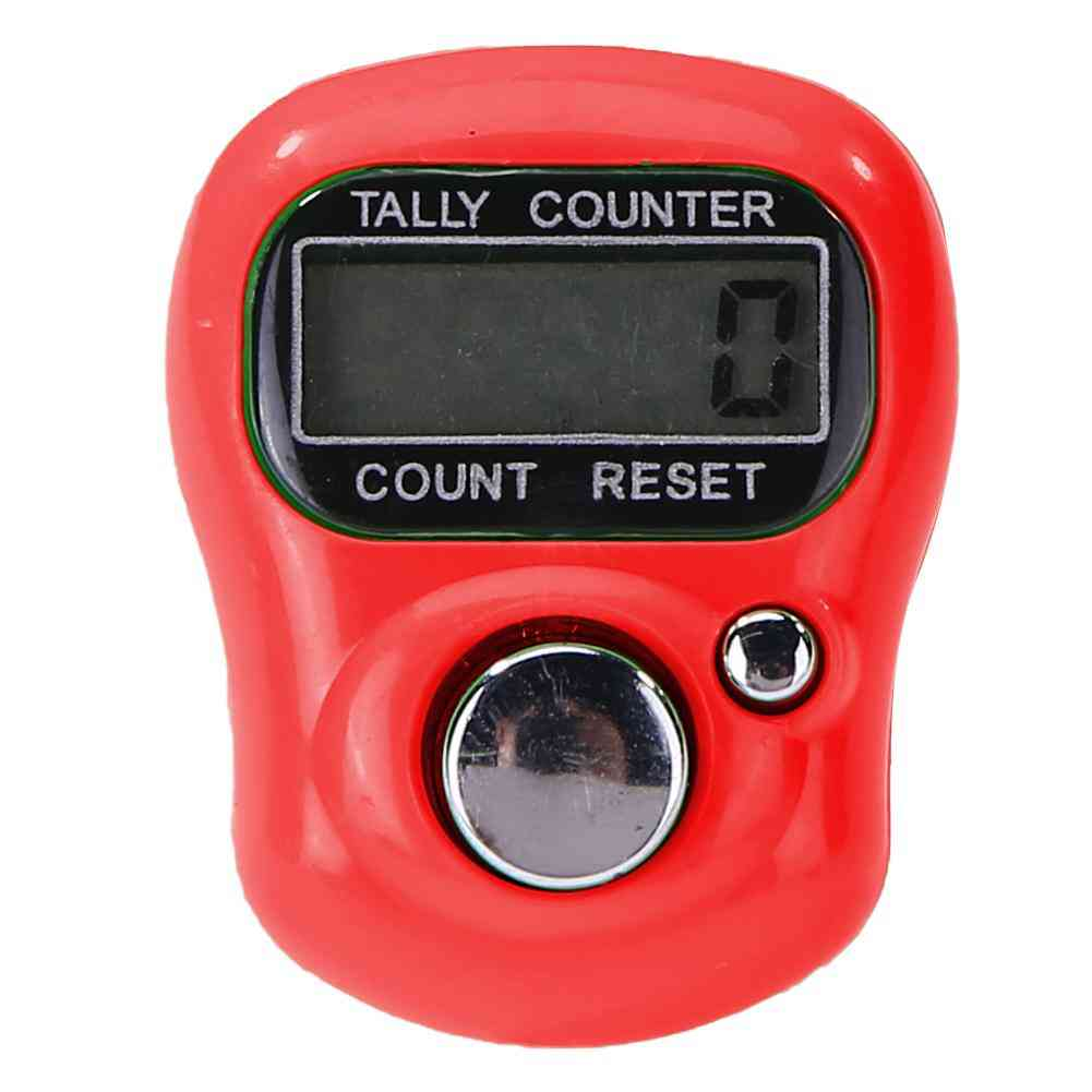 Mini Electronic Finger Counter With Lcd Digital Display