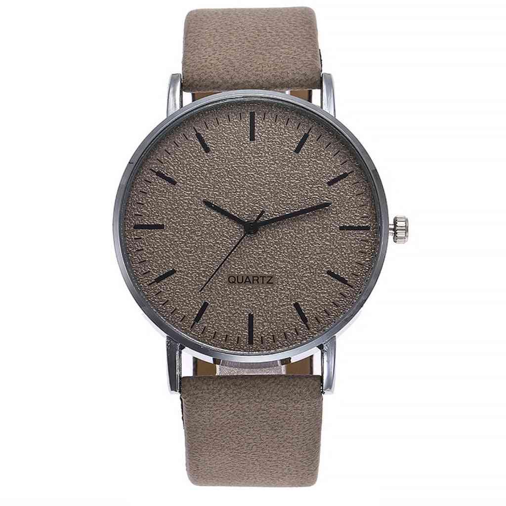 Fashion Women Leather Luxury Analog Quartz Starry Wristwatch