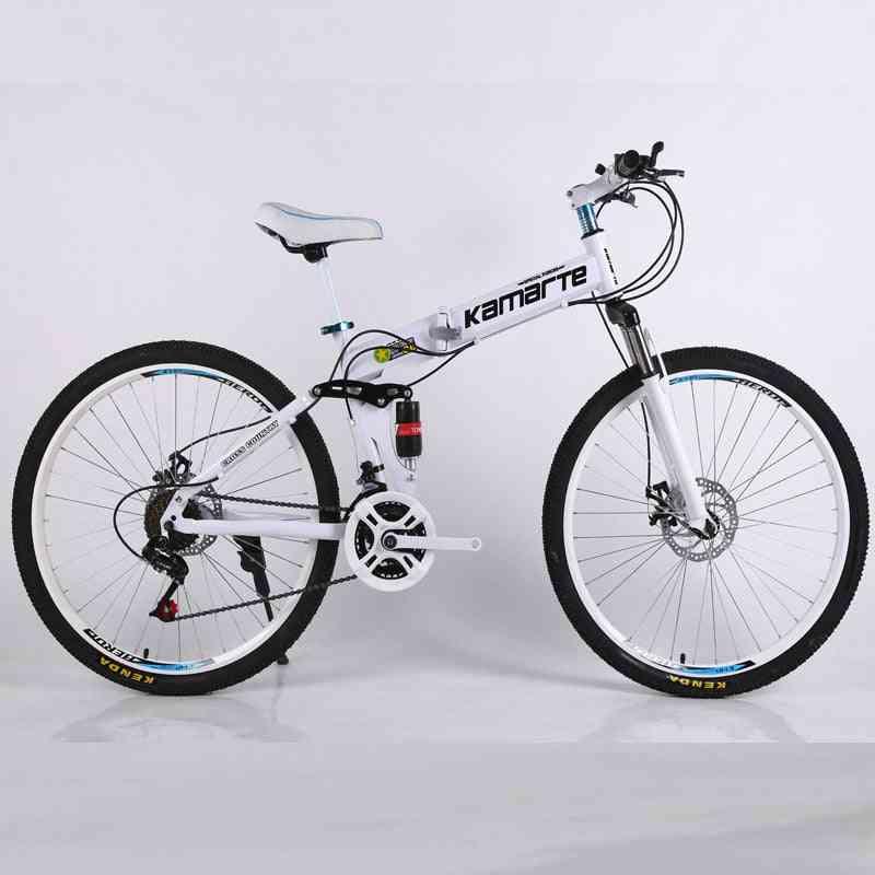 Folding Mountain Speed Double Disc Brakes Bicycle