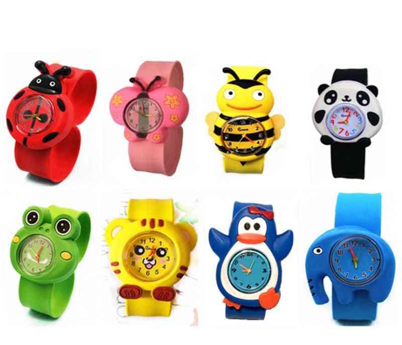 Baby Watch 3d Cartoon Kids Wrist Clock Quartz