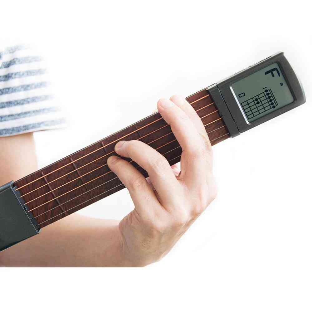 Portable 6-tone Pocket Guitar Chord Trainer Practice Tool