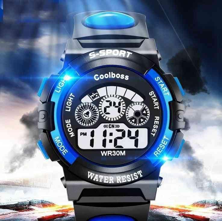 Waterproof, Led Digital Sports Watches