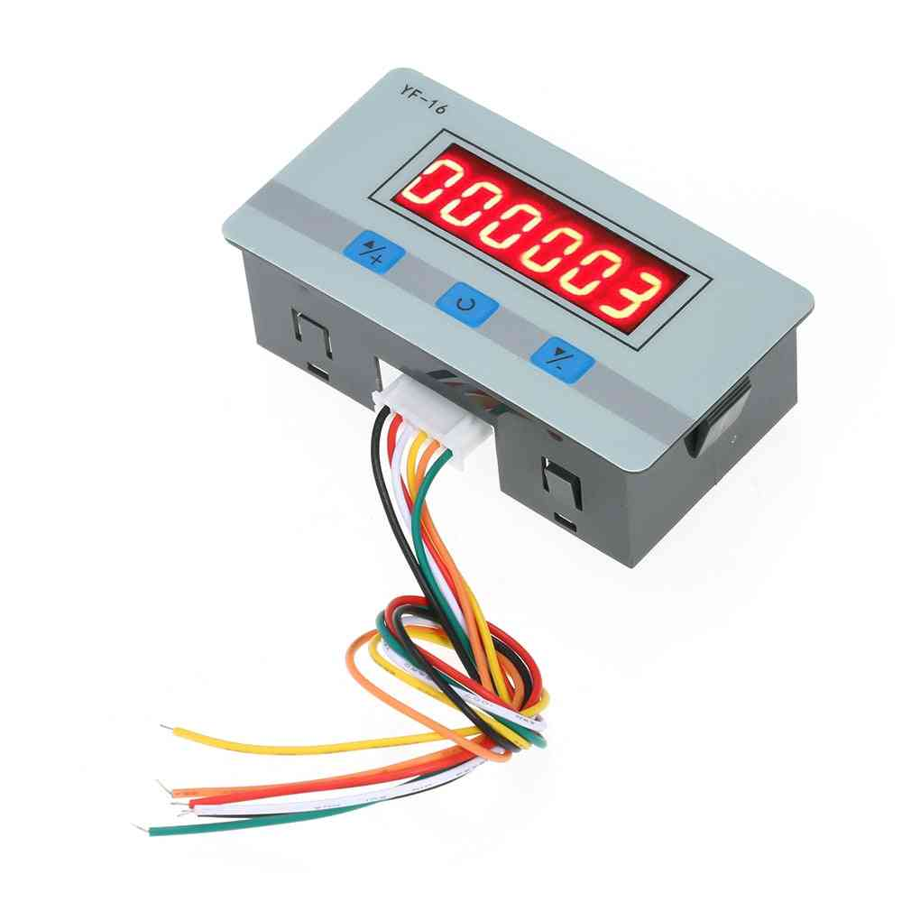 Digital Counter Modul, Electronic Totalizer With Signal Interface Times Counting Range
