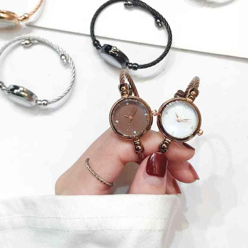 Women Fashion Luxury Starry Sky Bracelet Watch