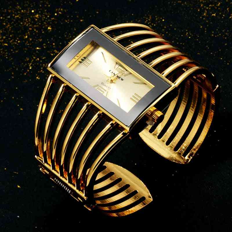 Women Watch Luxury Fashion Bangle, Bracelet, Clock