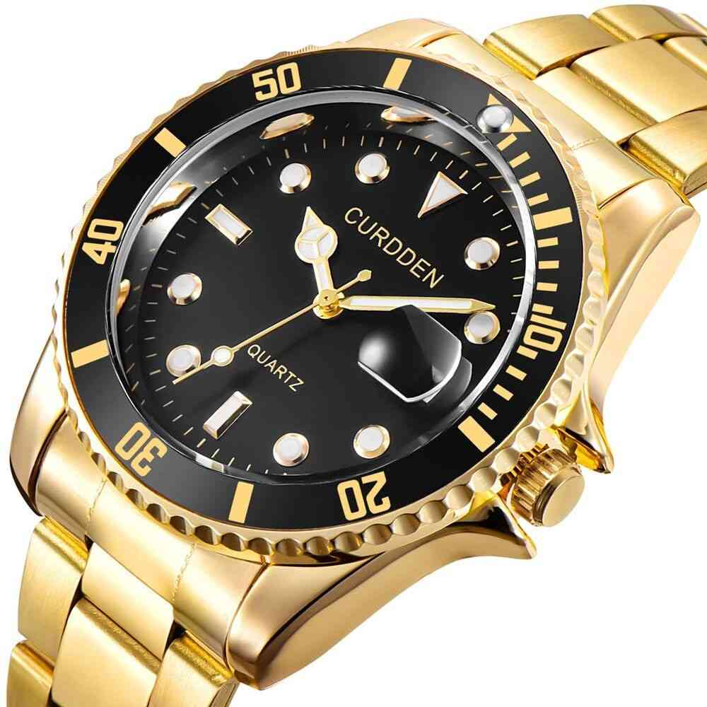 Classic Quartz Top Luxury Brand Stainless Steel Waterproof Watch