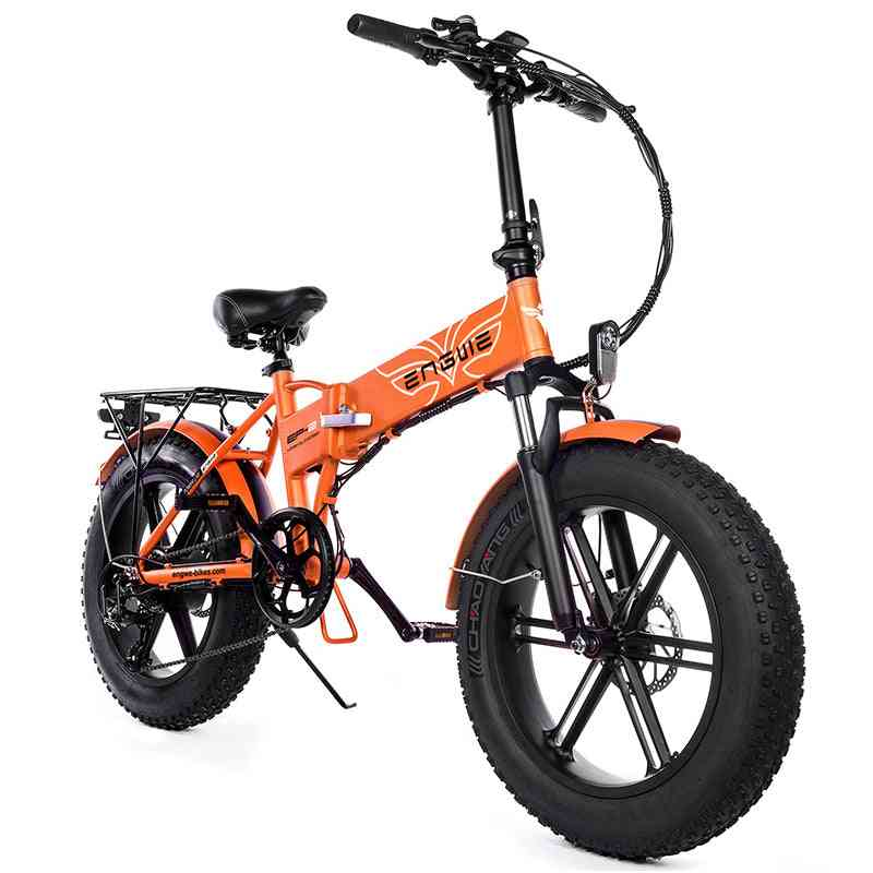 Powerful Motor Fat Tire Electric Bicycle