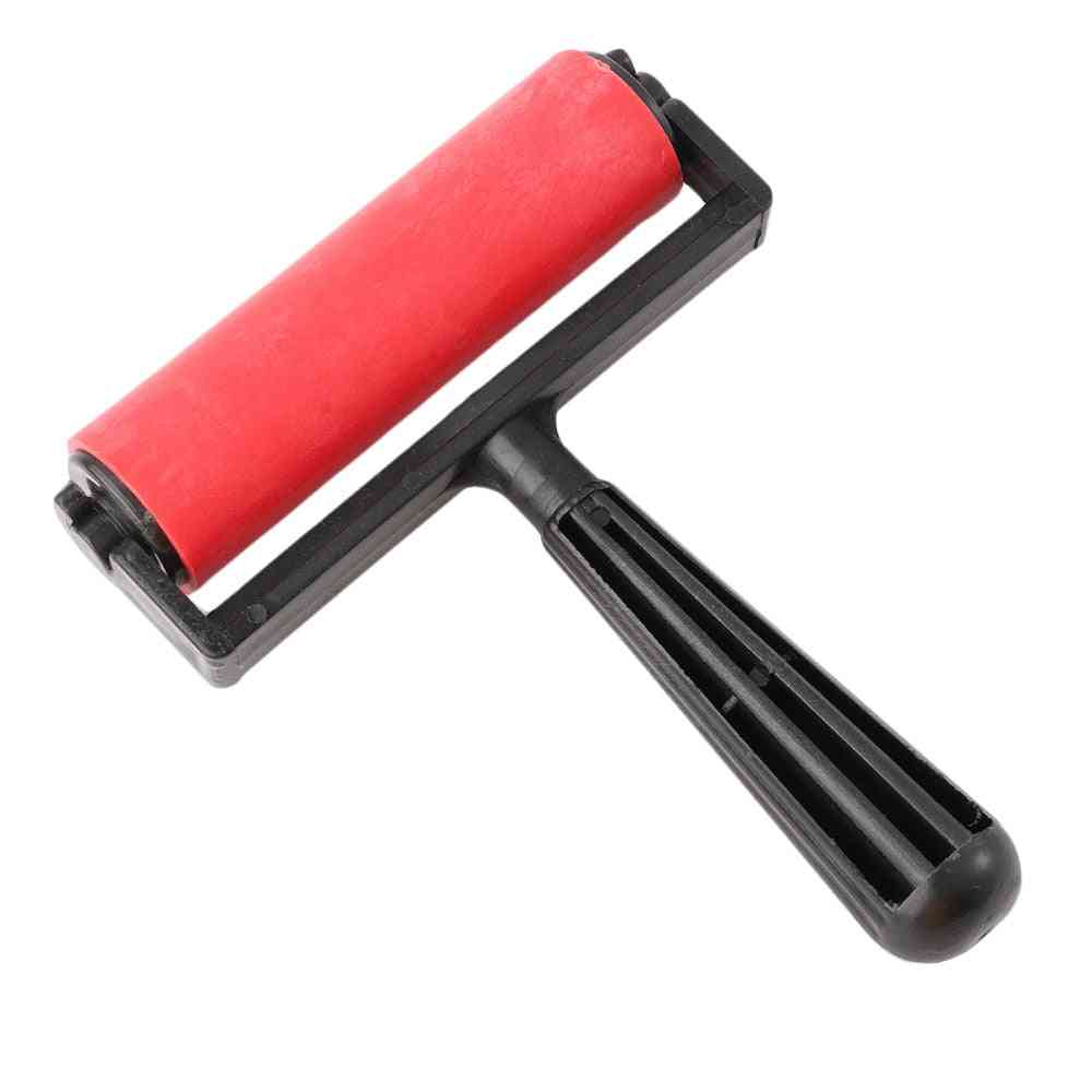 Printmaking Rubber Roller Soft Brayer Craft Projects Ink And Stamping Tools
