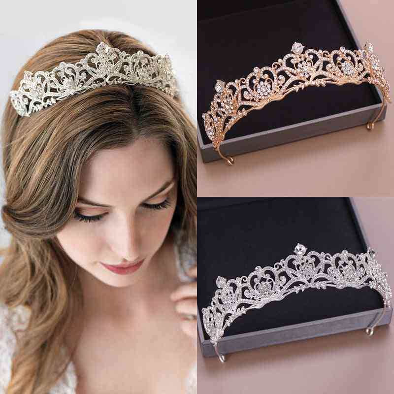 Wedding Headpiece Baroque Tiara And Crown Fashion