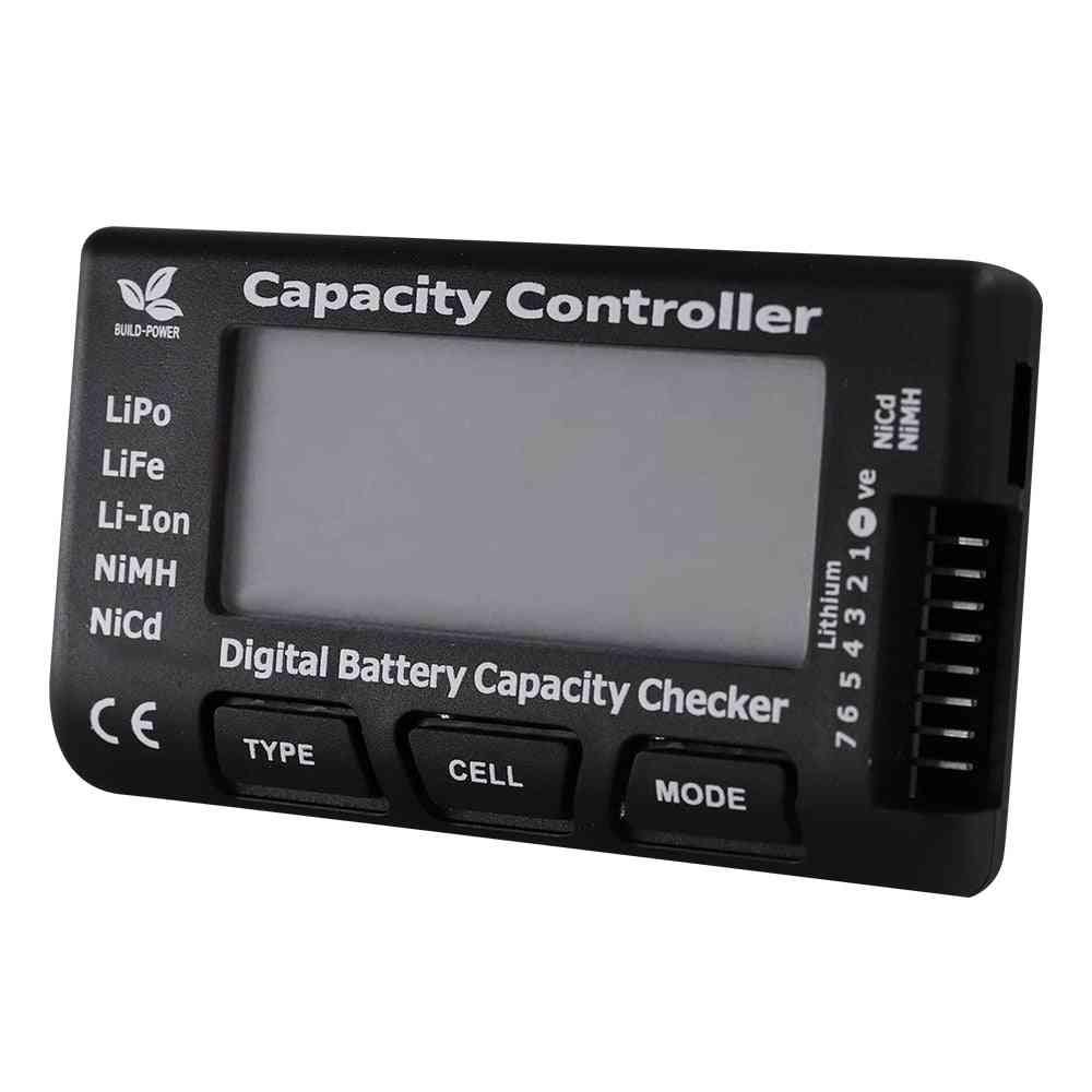 Rc Cellmeter-7 Digital Battery Capacity Checker Lipo Life Li-ion Nicd Nimh Voltage Tester