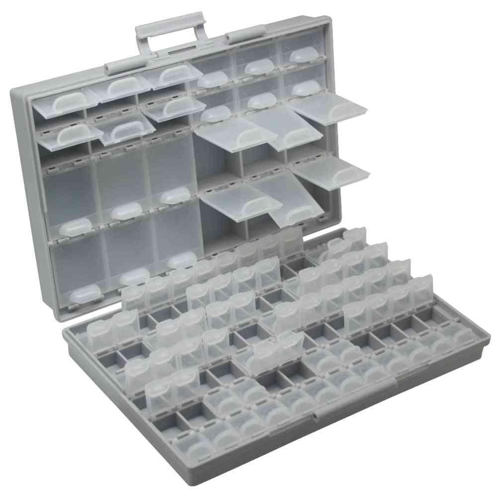 Resistor Capacitors Assortment Box Kit, Lab Electronics Cases & Organizers