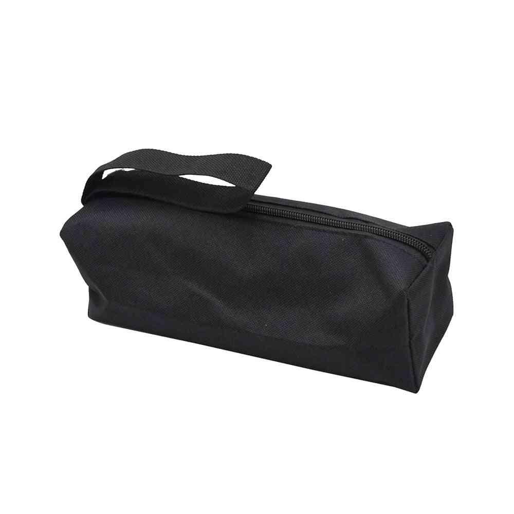 Electrician Oxford Storage Tool Handbag, Clutch Zipper Repair Screws Drill Organizer