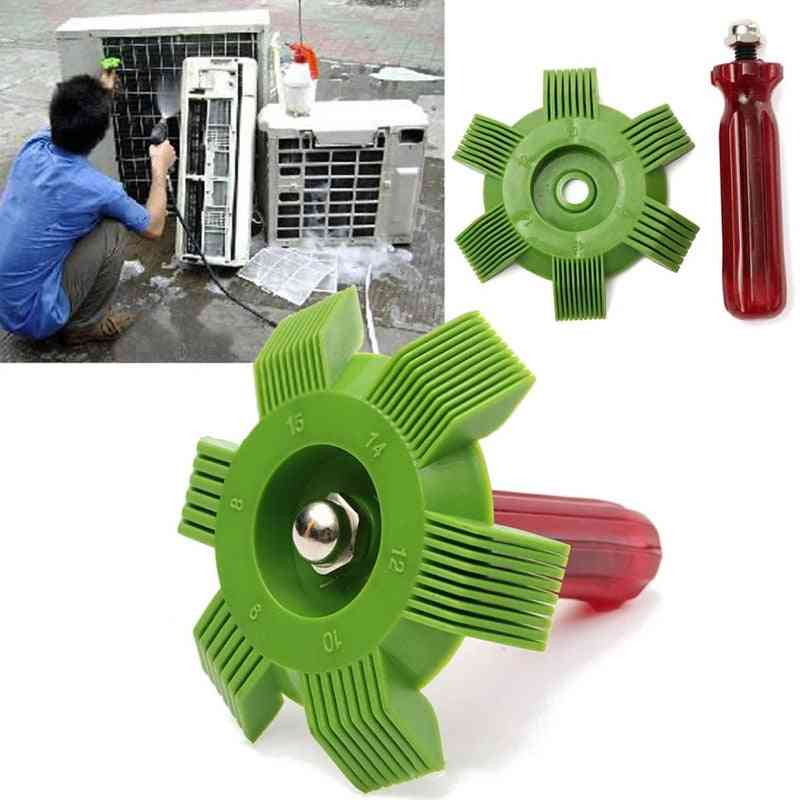 Universal Car A/c Straightener, Radiator, Condenser Fin Repair, Cleaning Tools