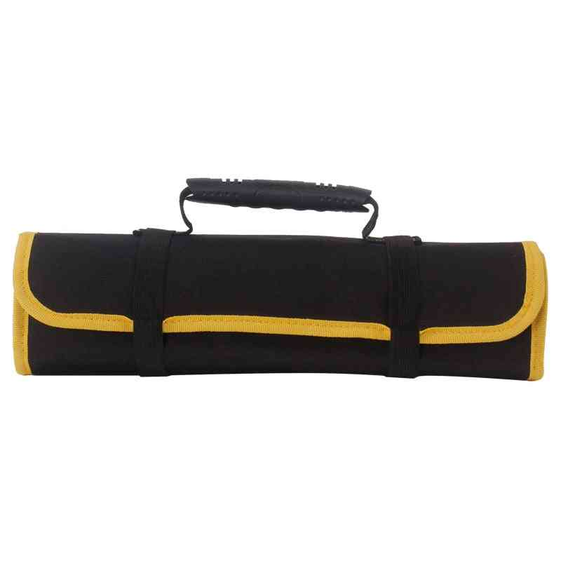 Reel Rolling Tool Bag, Pouch, Professional Electricians Organizer