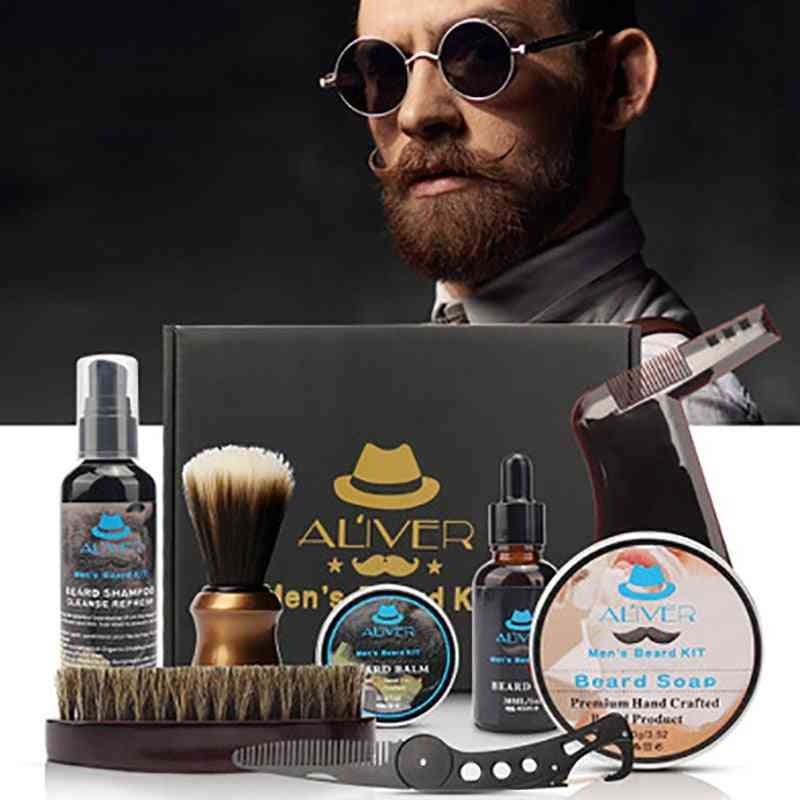 Men's Beard - Moisturizing 8-in-1 Care Set
