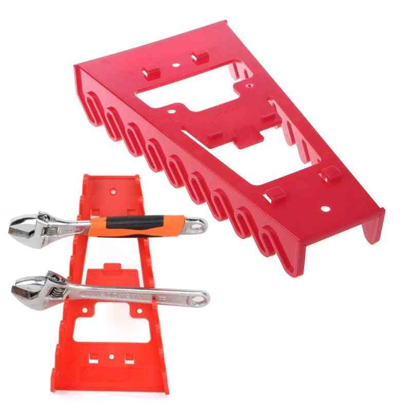 Wrench Spanner Organizer Sorter Holder Tray Socket Storage Rack Plastic Tools