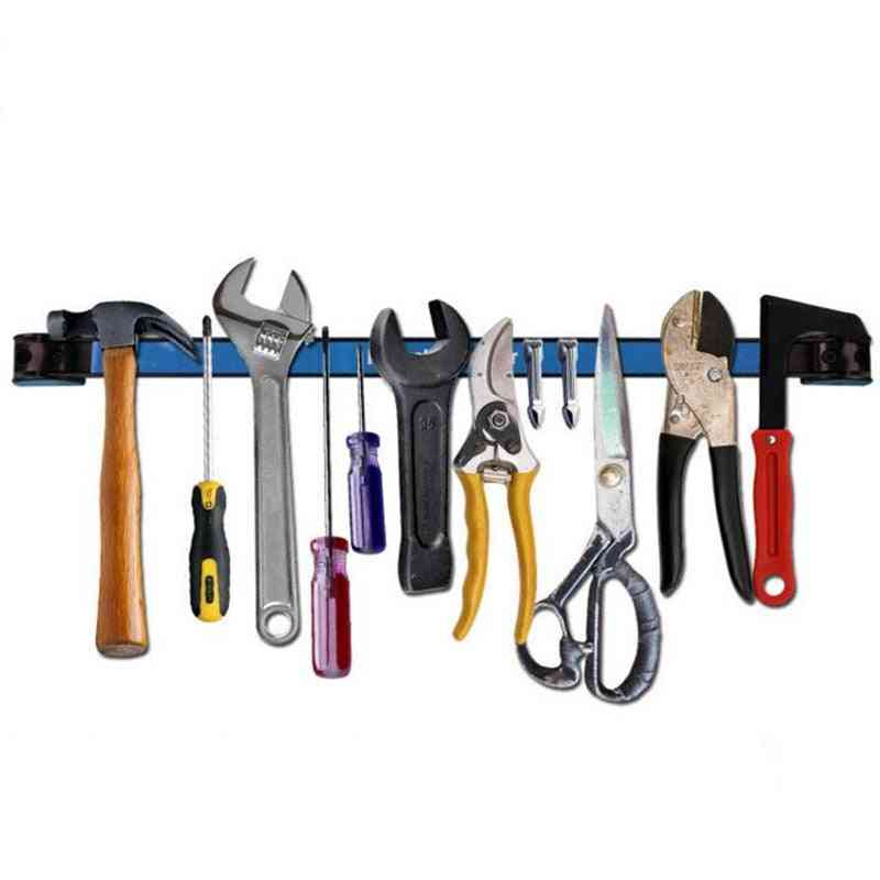 Strong Magnetic Tool, Wall Mounted Strip Shelf Scissor Plier Knife Tools