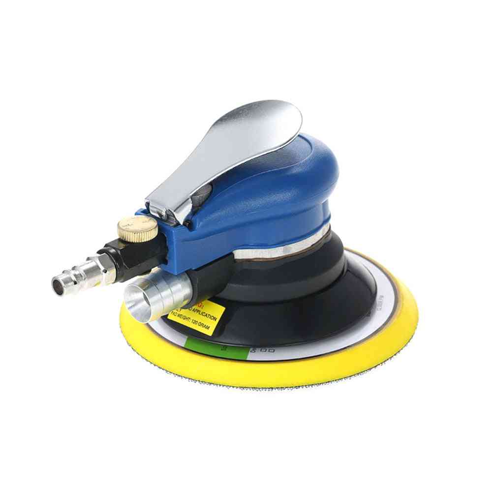 Pneumatic Air Sander With Dust Collecting Bag, Wrench And Hose