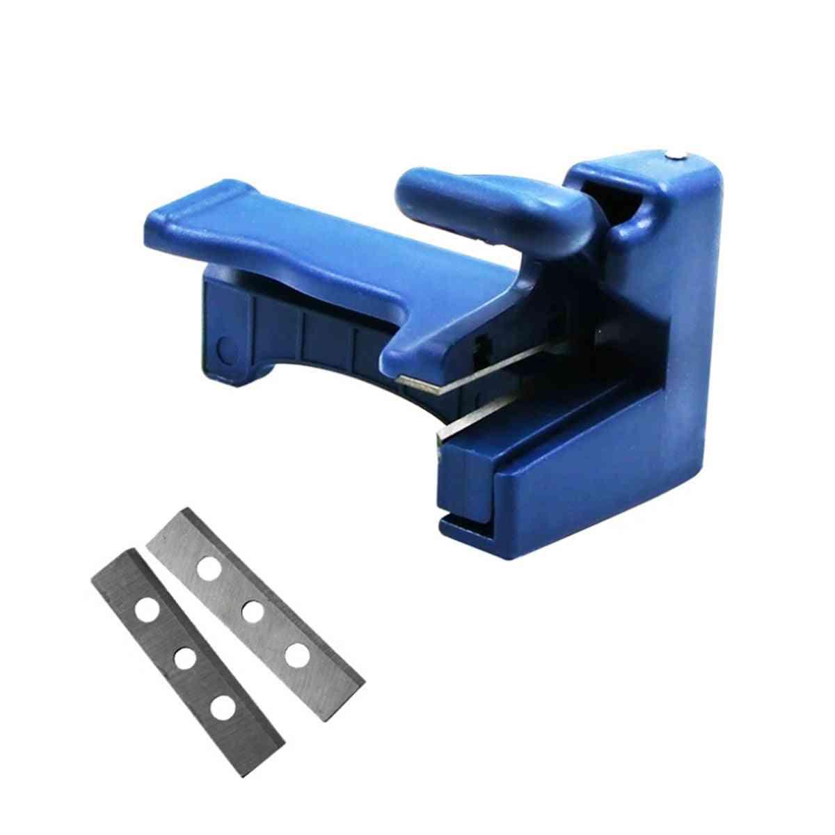 Trimmer Manual Edge Bending Cutter, Wood And Tail Carpenter Hardware Machine Set