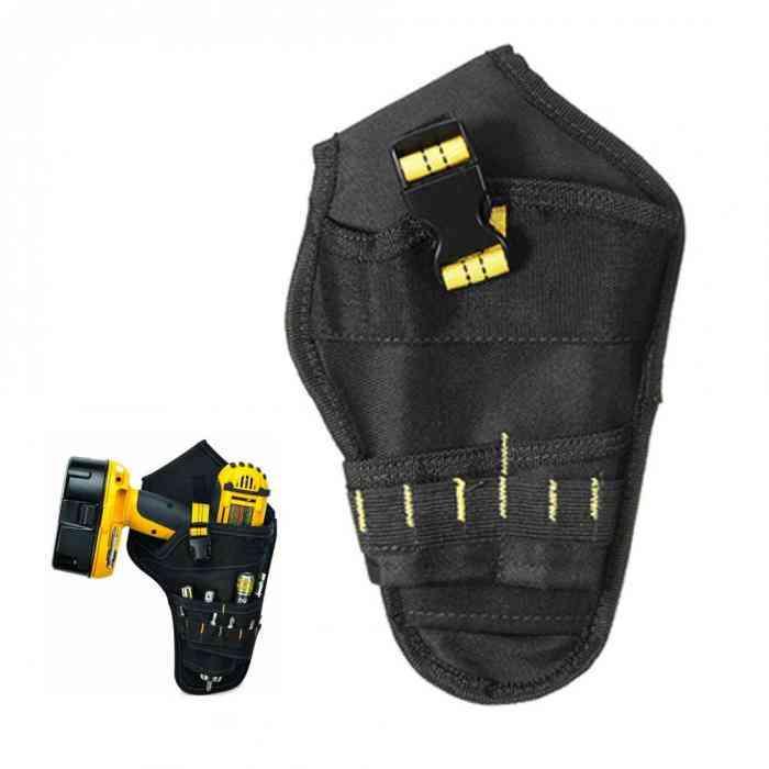 Heavy-duty Drill Holster Tool Belt Pouch Bit Holder Hanging Waist Bag