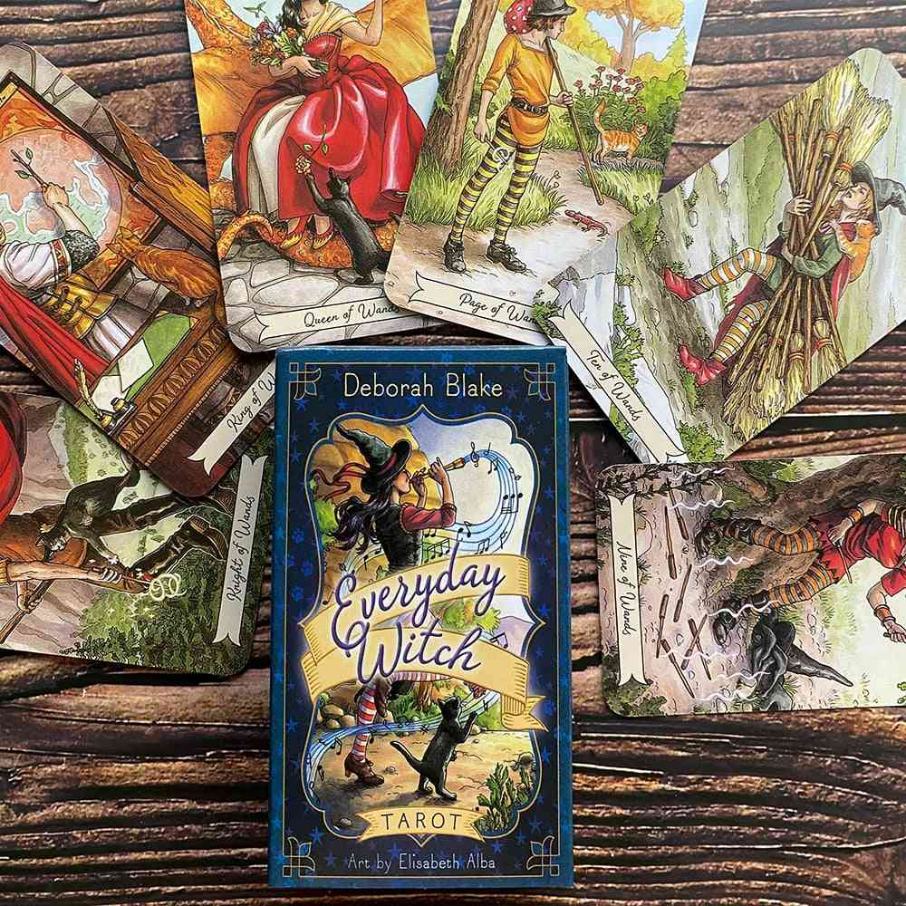 Everyday Witch Tarot Deck Board Game Cards