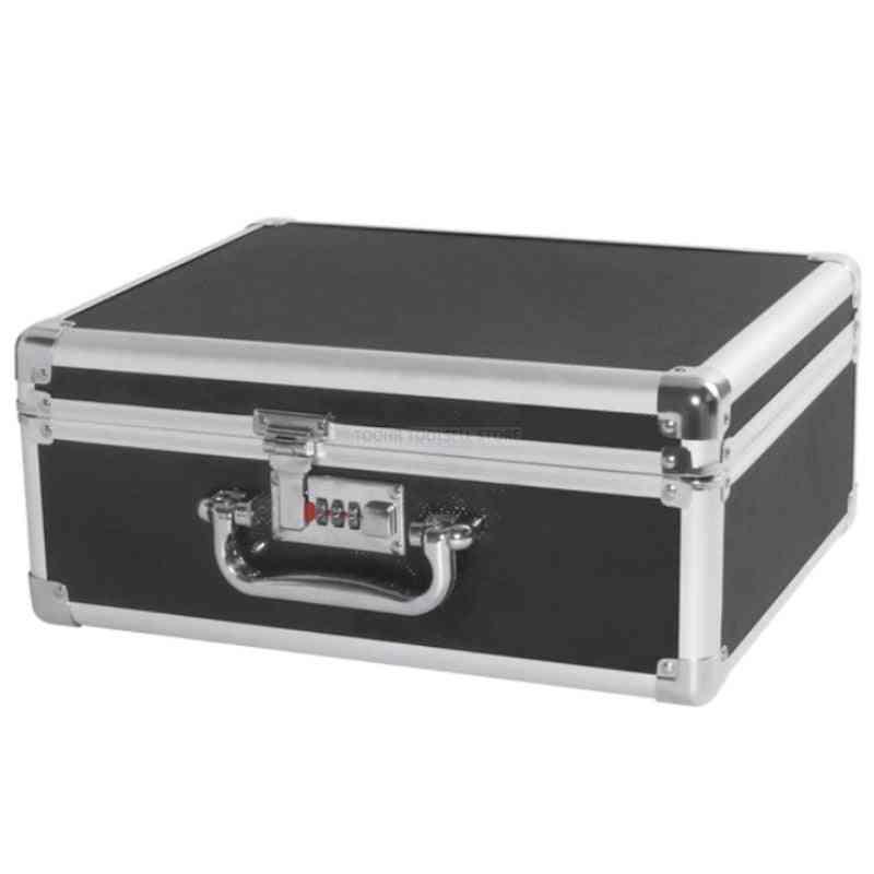 Aluminum Tool Case Suitcase File Box