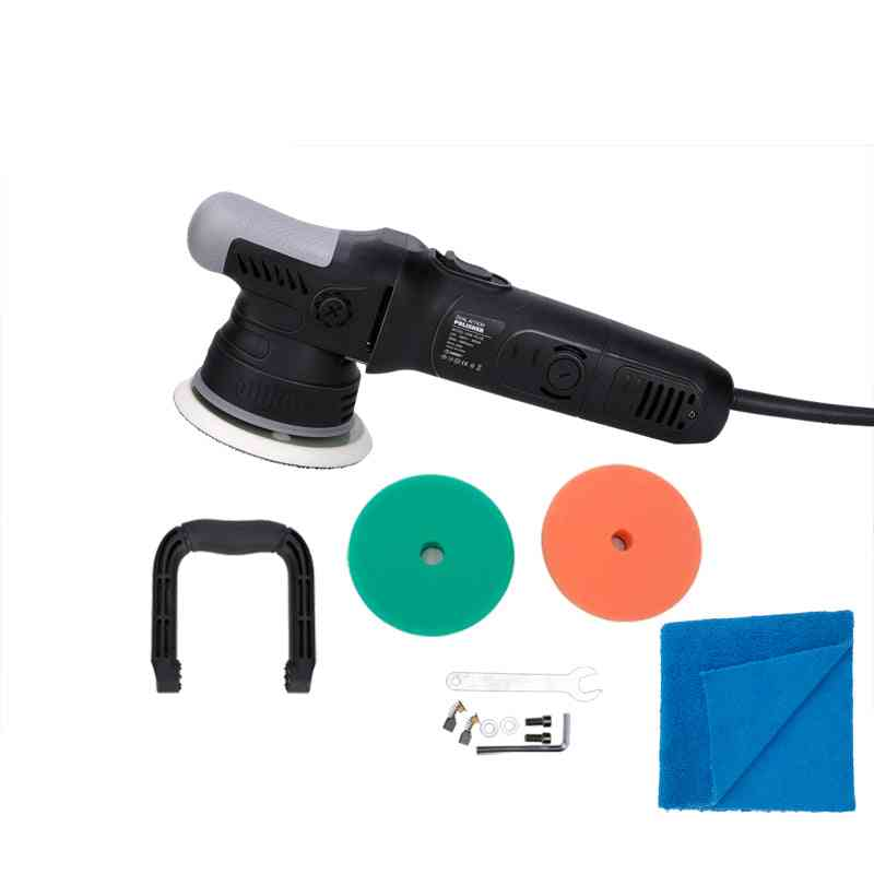 High Speed Dual Action Polisher Clover, Orbital With Foam Pads
