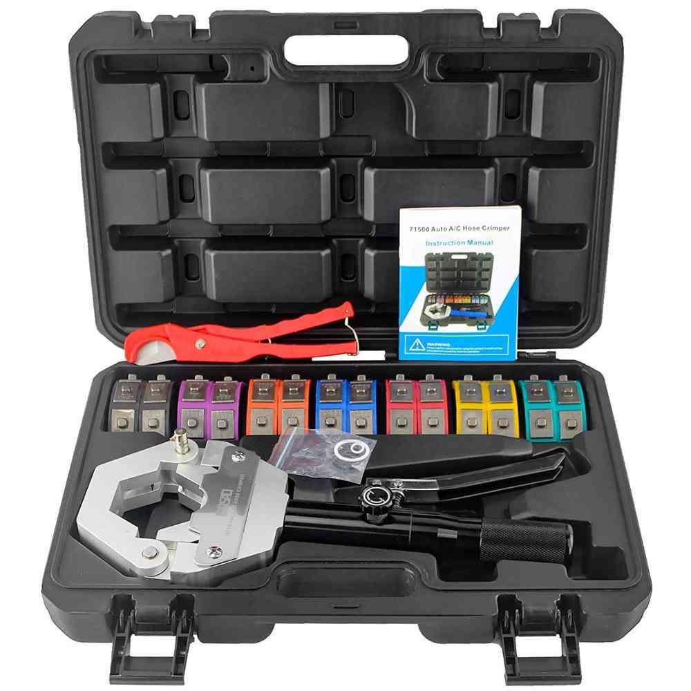 Manual Hydraulic Hose Crimping Tool Kit
