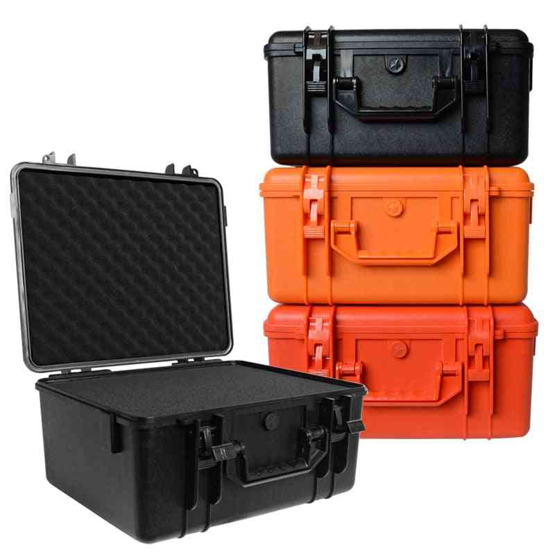 Safety Protective Equipment Case Toolbox, Outdoor Suitcase Waterproof Shockproof With Sponge