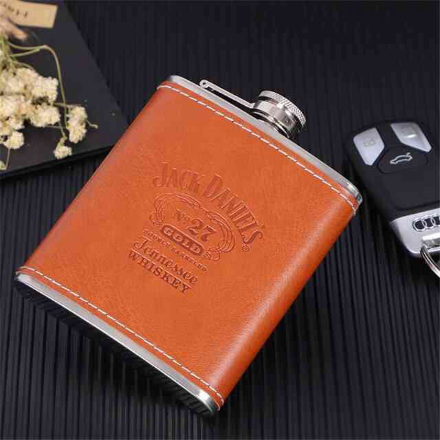 Stainless Steel Alcohol Funnel Hip Flask Set