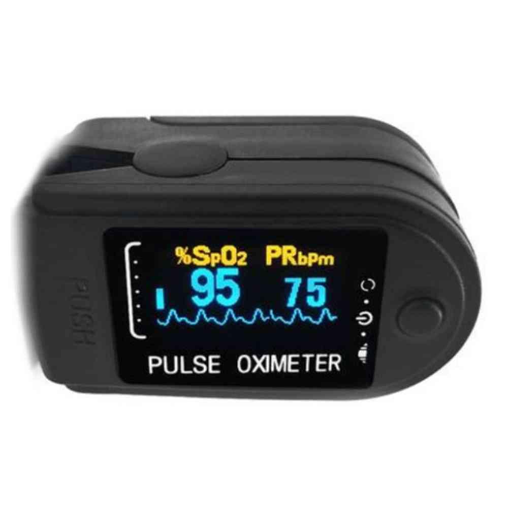Fingertip Pulse Oximeter, Home Family Oxymeter, Pulsioximetro Led
