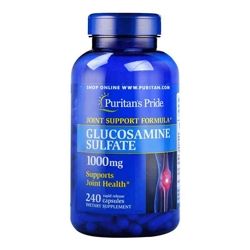 Glucosamine-sulfate 1000-mg Supports Joint-health